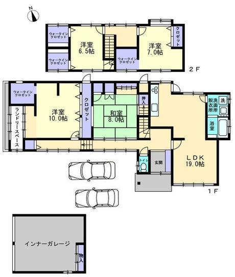 富山市北代 中古住宅