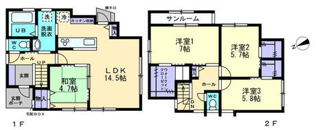 中新川郡立山町日俣(ガーデンシティ柿の木沢)新築住宅