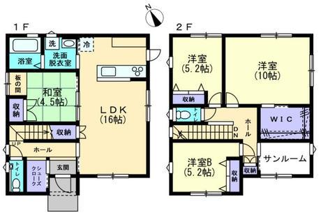 富山市中間島2丁目 新築住宅(B棟)