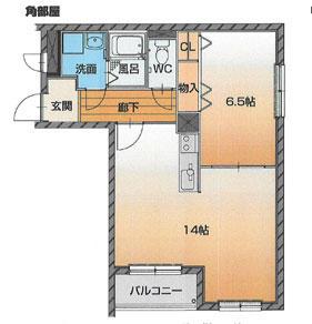 富山市西長江 ハートフルマンション シンシア